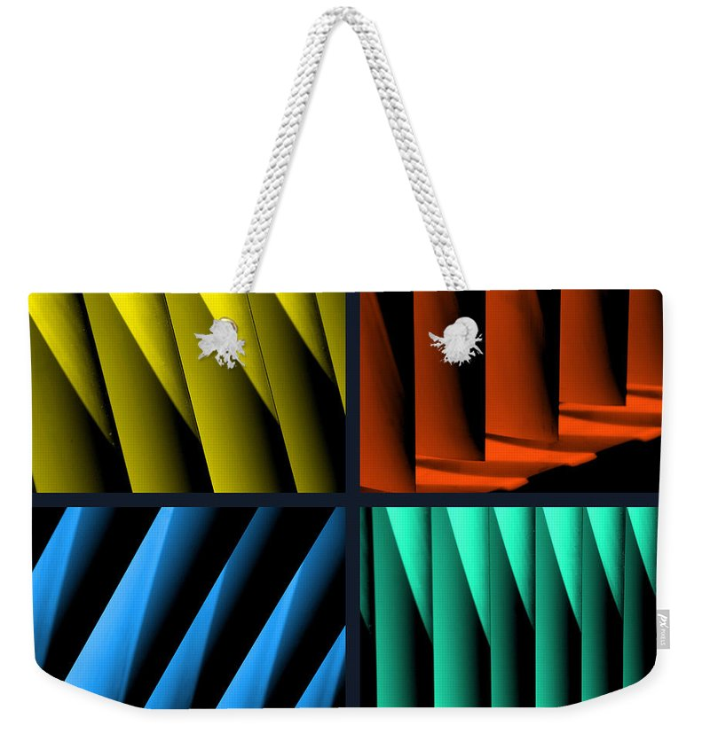 Quadruple Weekender Tote Bag featuring the photograph All For One by Susanne Van Hulst