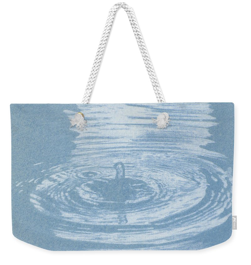 Water Weekender Tote Bag featuring the photograph All One by Casper Cammeraat