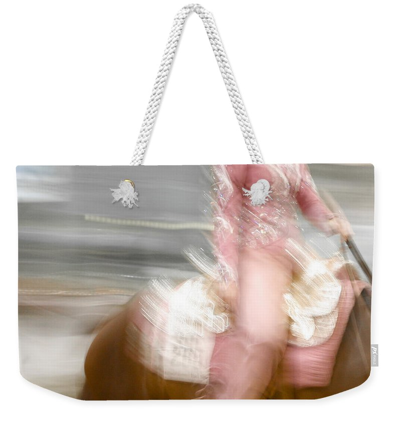 Horse Weekender Tote Bag featuring the photograph All That Glitters by Marilyn Hunt