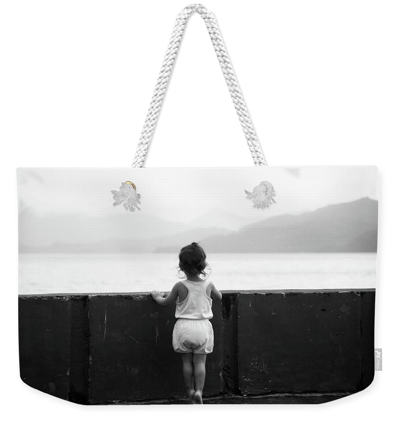 Mati Weekender Tote Bag featuring the photograph All That by Jez C Self