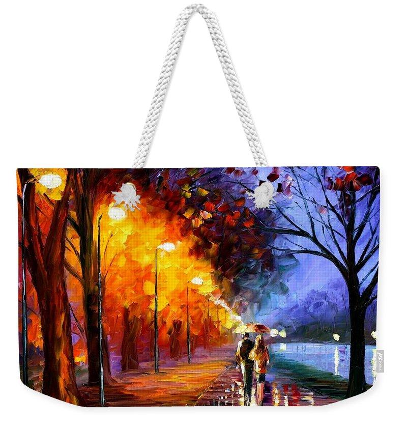 Afremov Weekender Tote Bags
