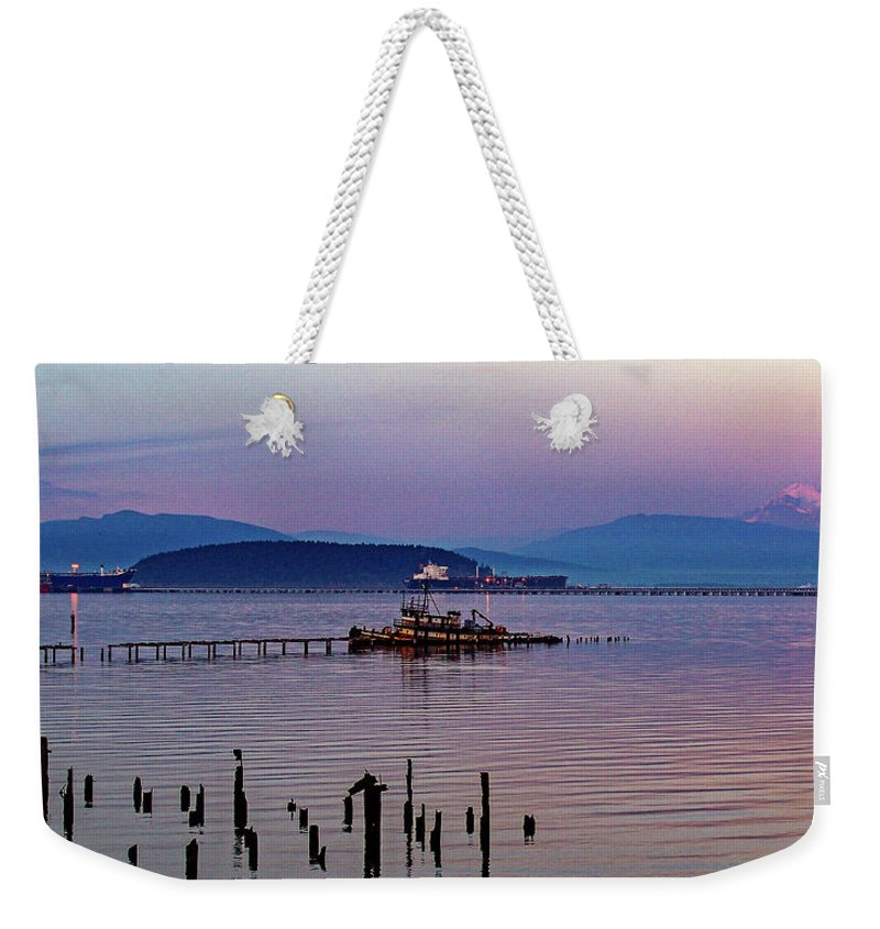 Tim Dussault Weekender Tote Bag featuring the photograph Almost Home Two by Tim Dussault