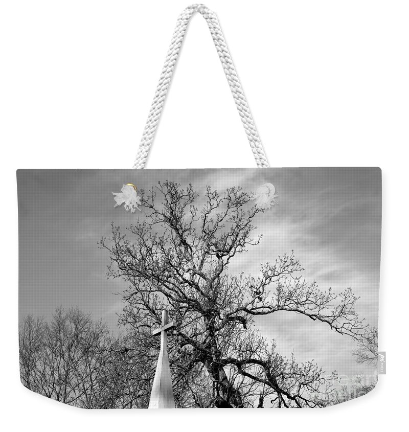 Alone Weekender Tote Bag featuring the photograph Alone by Amanda Barcon