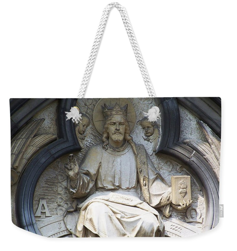 Ireland Weekender Tote Bag featuring the photograph Alpha And Omega by Teresa Mucha