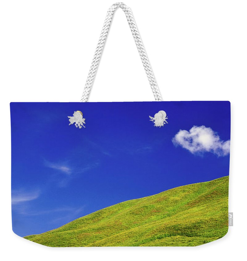 Alone Weekender Tote Bag featuring the photograph Altai by Konstantin Dikovsky