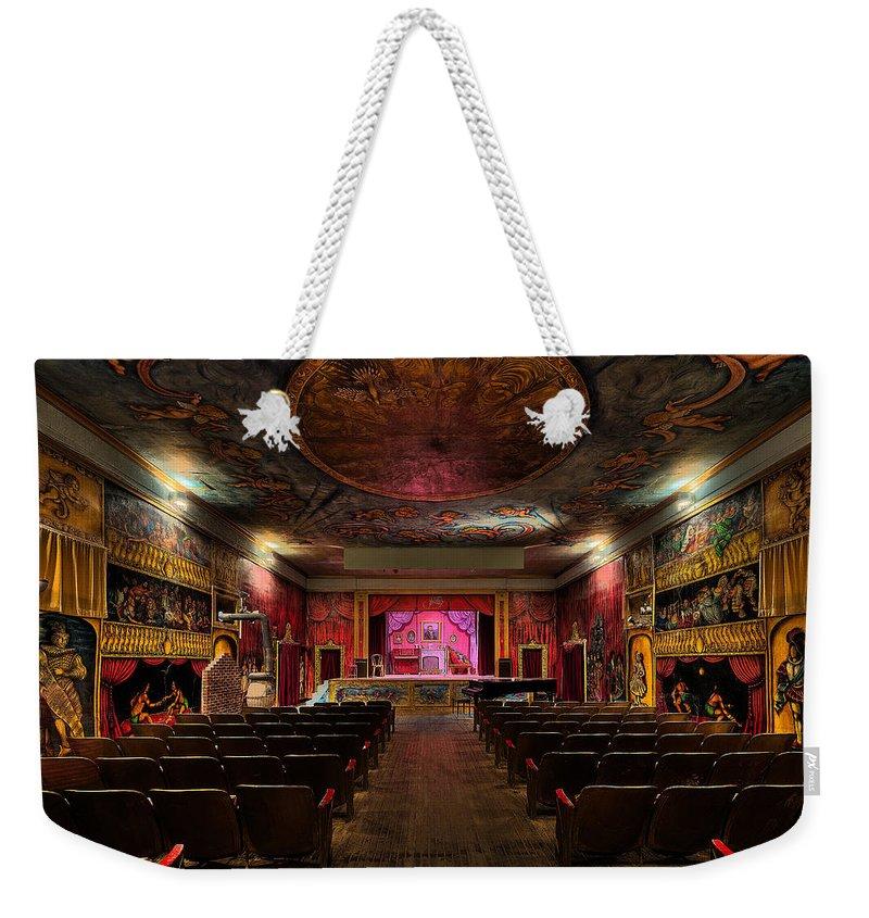 Amargosa Weekender Tote Bag featuring the photograph Amargosa Opera House Death Valley C A by Steve Gadomski
