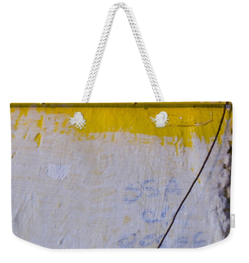 Abstract Weekender Tote Bag featuring the photograph Amarillo by Skip Hunt