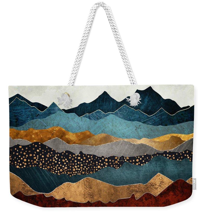 Copper Weekender Tote Bags