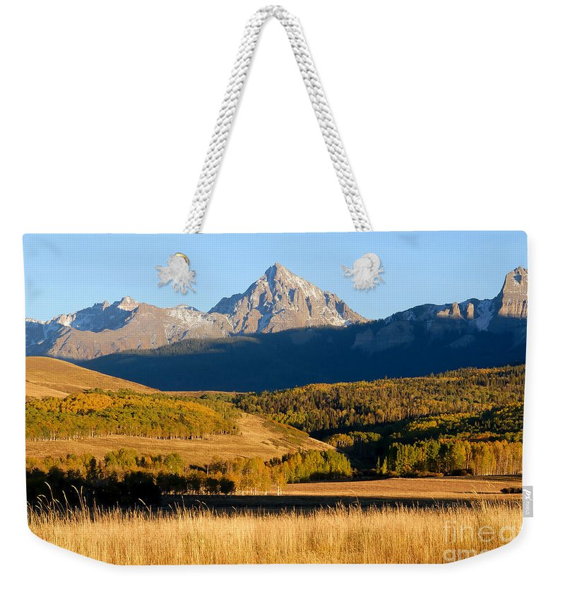 America Weekender Tote Bag featuring the photograph America The Beautiful by David Lee Thompson