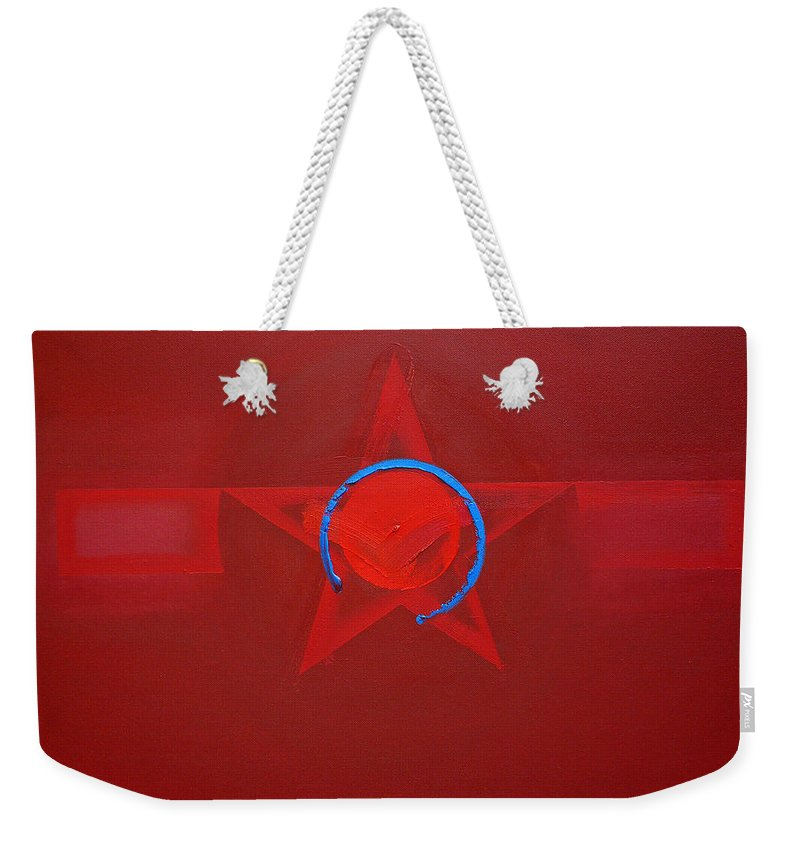 Usaaf Insignia Weekender Tote Bag featuring the painting American Sky Blue by Charles Stuart