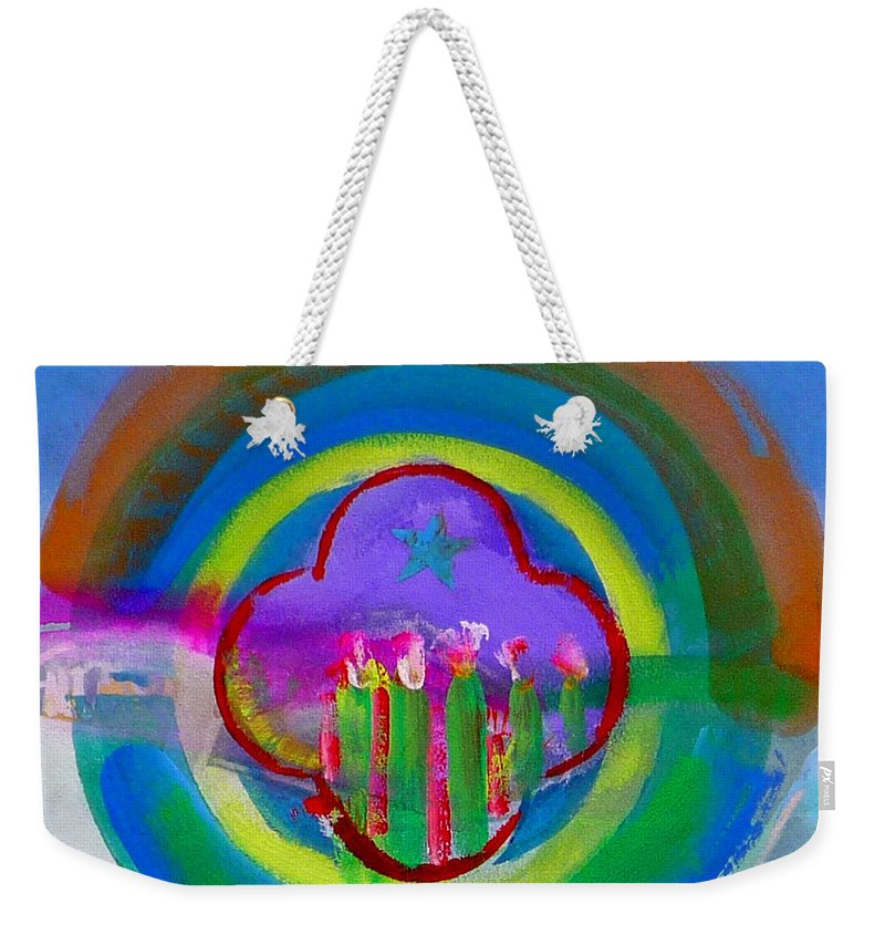 Love Weekender Tote Bag featuring the painting American Spring by Charles Stuart