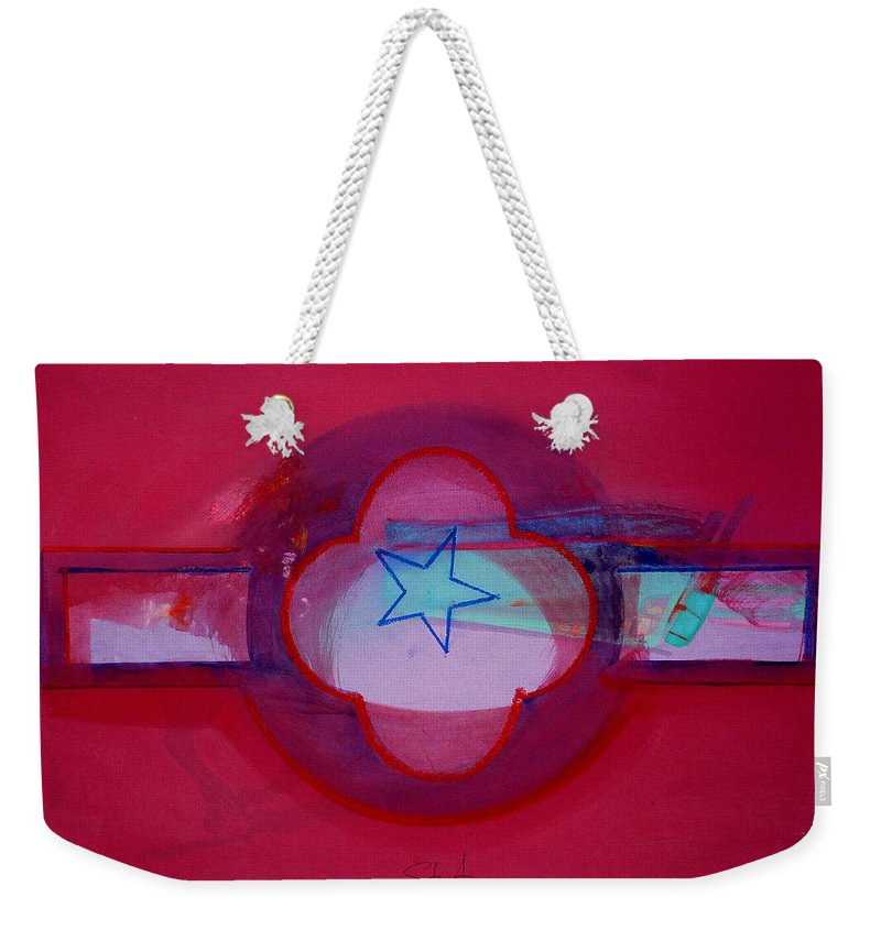 Star Weekender Tote Bag featuring the painting American Star Of The Sea by Charles Stuart