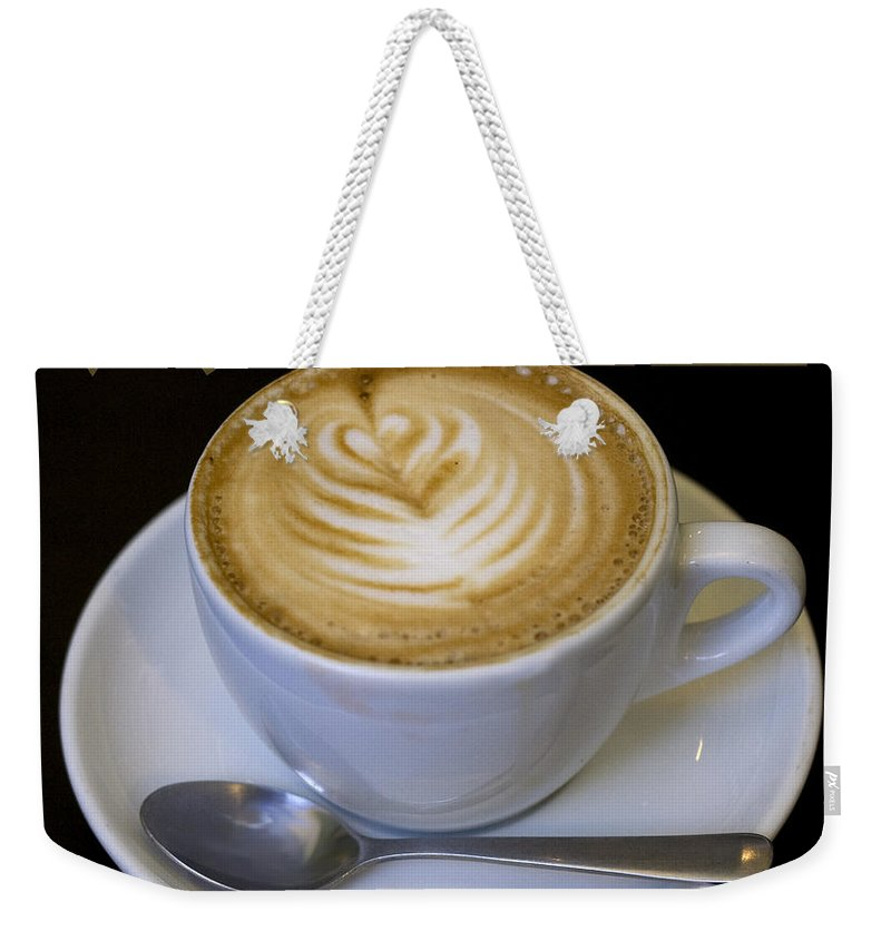 Coffee Weekender Tote Bag featuring the photograph Amore Poster by Tim Nyberg