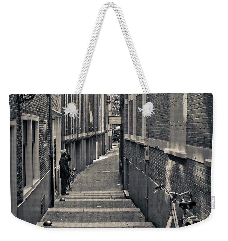 3scape Photos Weekender Tote Bag featuring the photograph Amsterdam by Adam Romanowicz