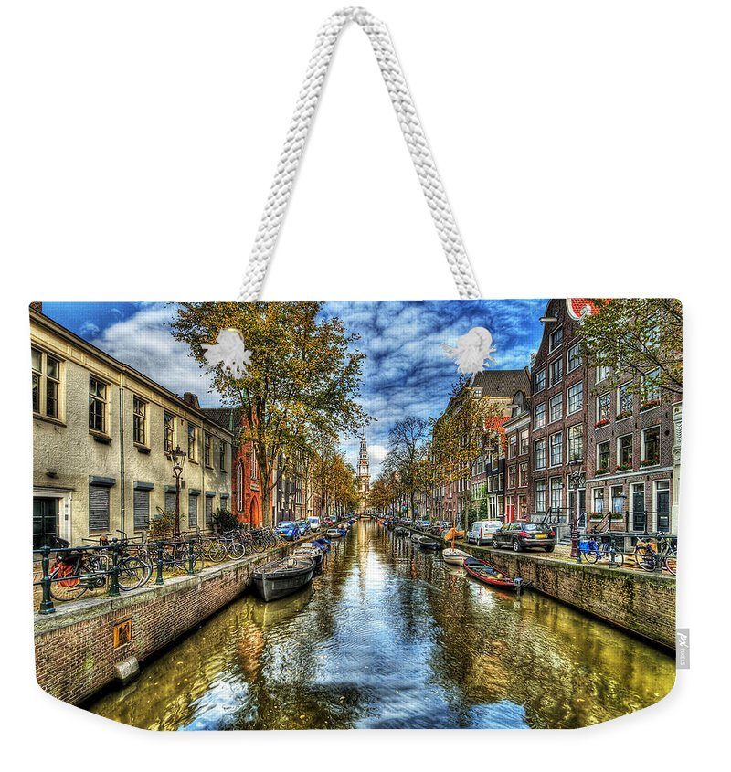 Amsterdam Weekender Tote Bag featuring the photograph Amsterdam by Svetlana Sewell