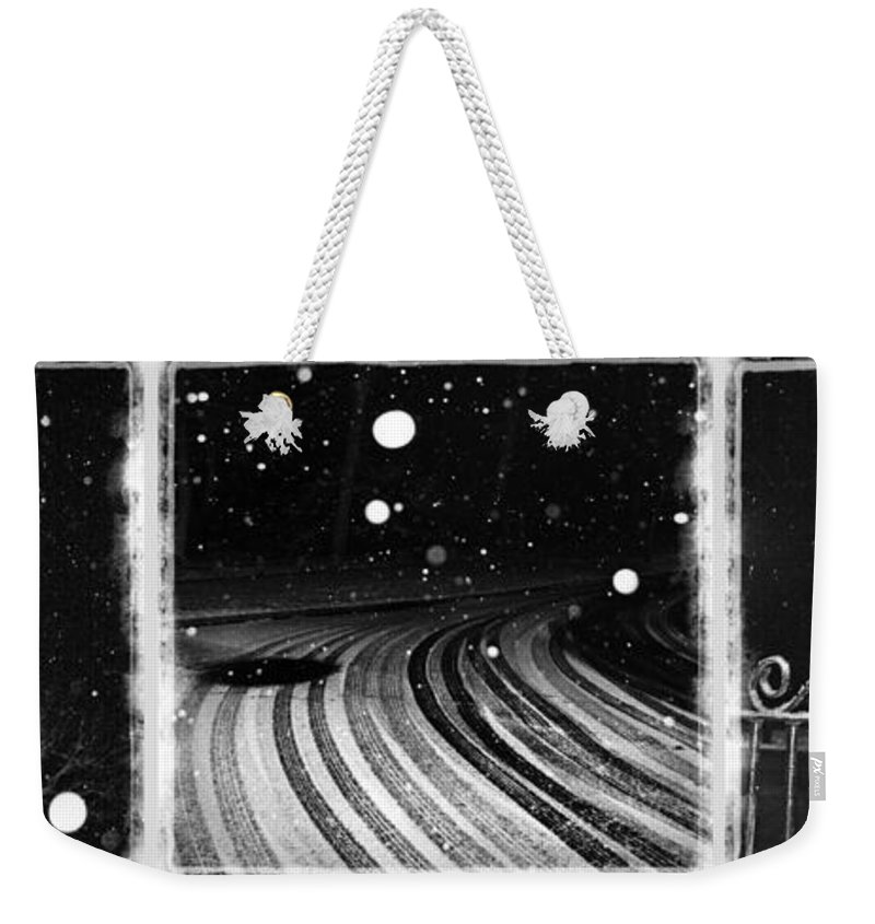 Art Weekender Tote Bag featuring the photograph an English winter - number I by Dorit Fuhg