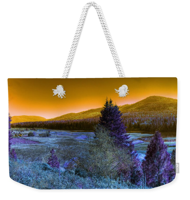 Fantasy Weekender Tote Bag featuring the photograph An Idaho Fantasy 1 by Lee Santa