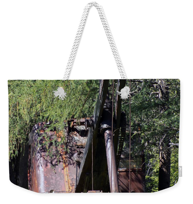 Relic Weekender Tote Bag featuring the photograph An Incredible Hulk by William Tasker