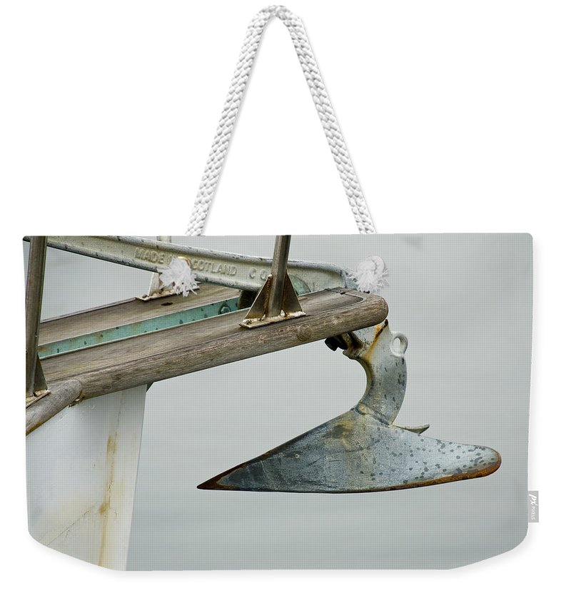 Anchor Weekender Tote Bag featuring the photograph Anchor by Charles Harden