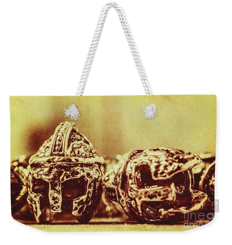 Spartan Weekender Tote Bag featuring the photograph Ancient History by Jorgo Photography - Wall Art Gallery
