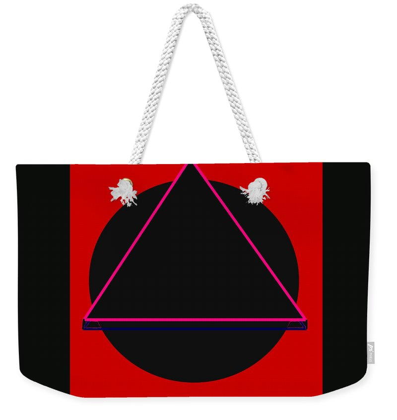 Social Justice Art Weekender Tote Bag featuring the digital art And It Flowed by Pharris Art