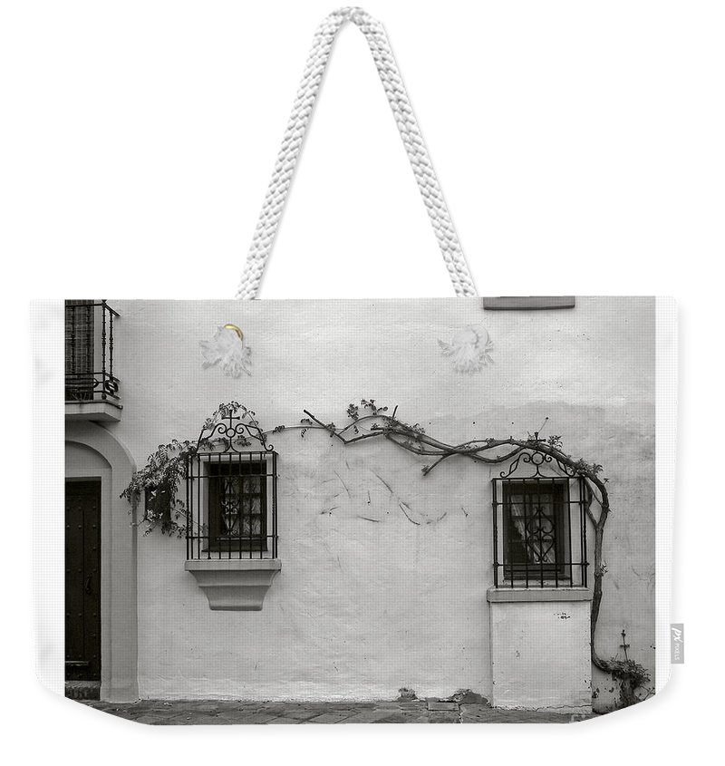 Andalucia Weekender Tote Bag featuring the photograph Andalucia Wall by Thomas Marchessault