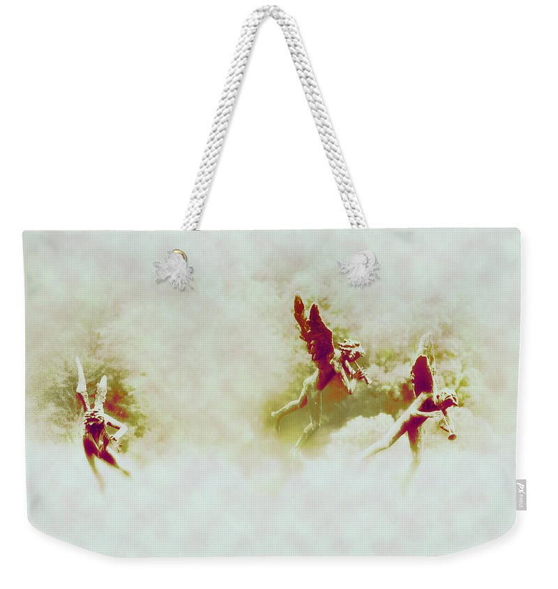 Angels Weekender Tote Bag featuring the photograph Angel Song by Bill Cannon