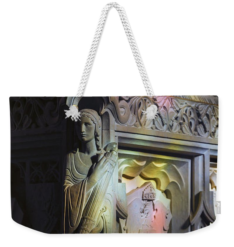 Angel Weekender Tote Bag featuring the photograph Angelic Escort by Stephen Stookey
