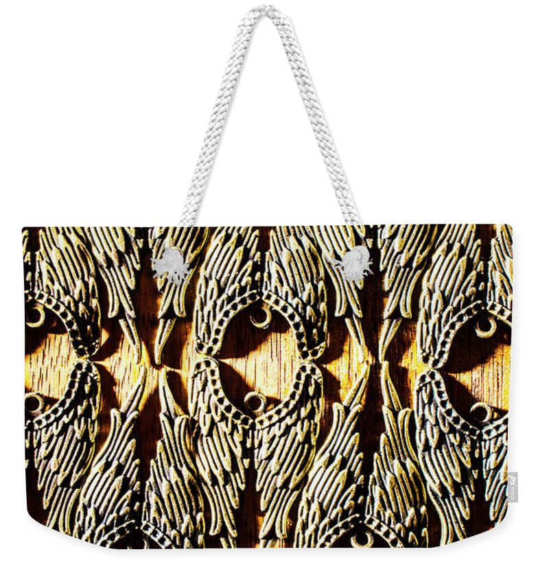 Peace Weekender Tote Bag featuring the photograph Angelic Patterns by Jorgo Photography - Wall Art Gallery