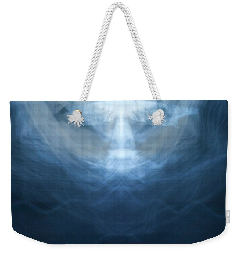 Painting With Light Weekender Tote Bag featuring the photograph Angellight by Mary Kobet