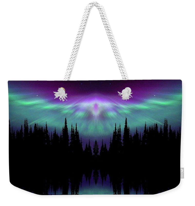 Peace Weekender Tote Bag featuring the photograph Angels Watching Over You by Andrea Kollo