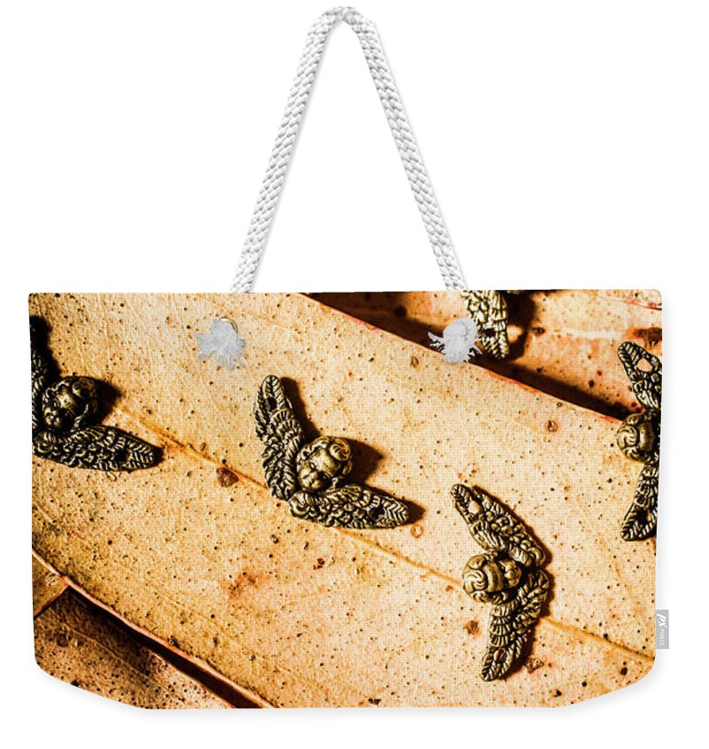 Angels Weekender Tote Bag featuring the photograph Angels With Wings by Jorgo Photography - Wall Art Gallery