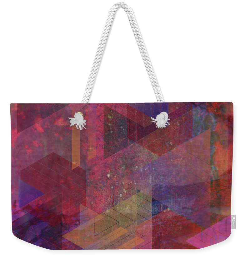 Another Place Weekender Tote Bag featuring the digital art Another Place by John Beck