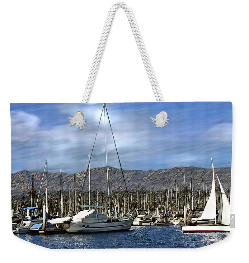 Ocean Weekender Tote Bag featuring the photograph Another Sunny Day by Kurt Van Wagner