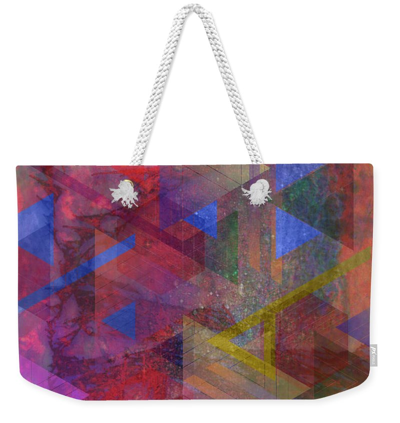 Another Time Weekender Tote Bag featuring the digital art Another Time by John Beck