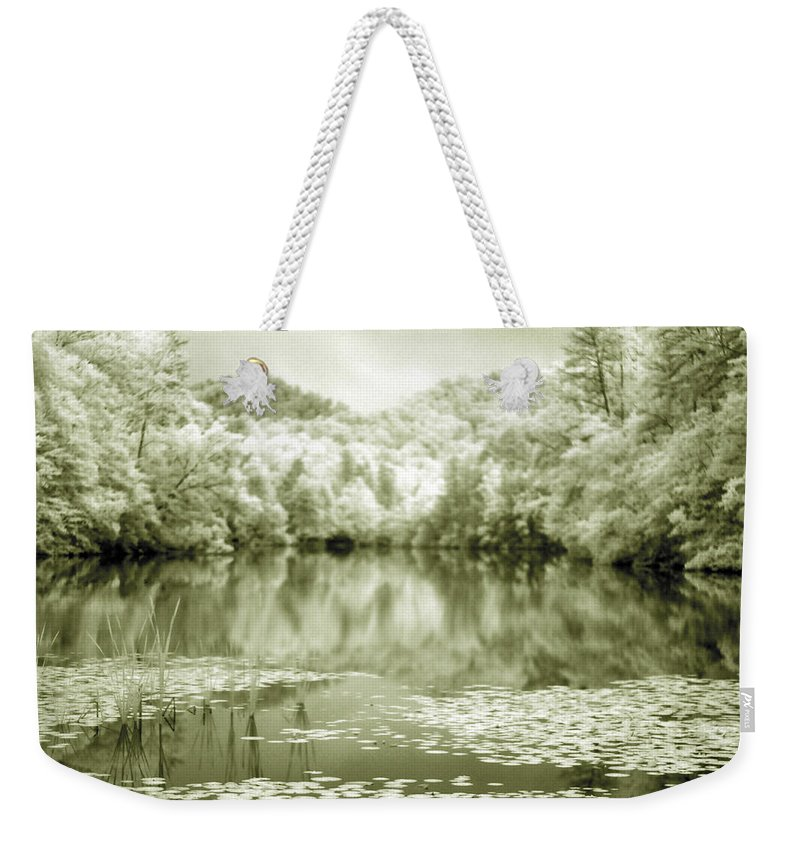 Infrared Weekender Tote Bag featuring the photograph Another World by Alex Grichenko