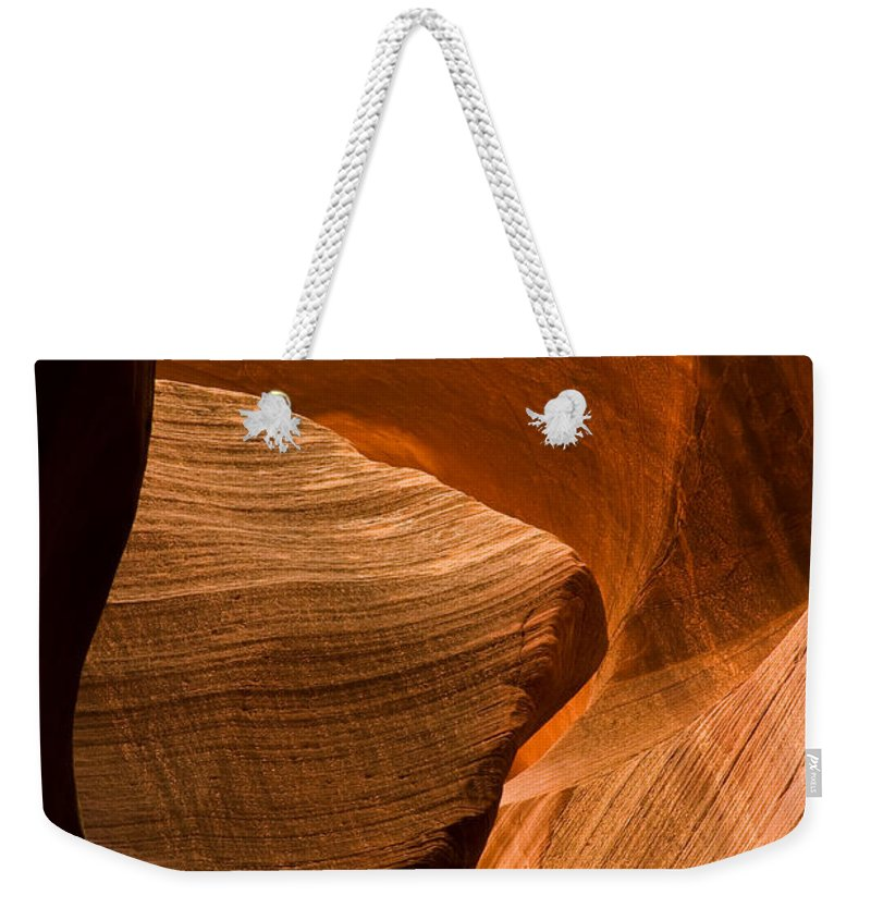 3scape Photos Weekender Tote Bag featuring the photograph Antelope Canyon No 3 by Adam Romanowicz