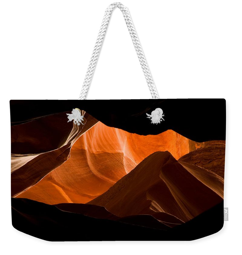 3scape Photos Weekender Tote Bag featuring the photograph Antelope No 2 by Adam Romanowicz