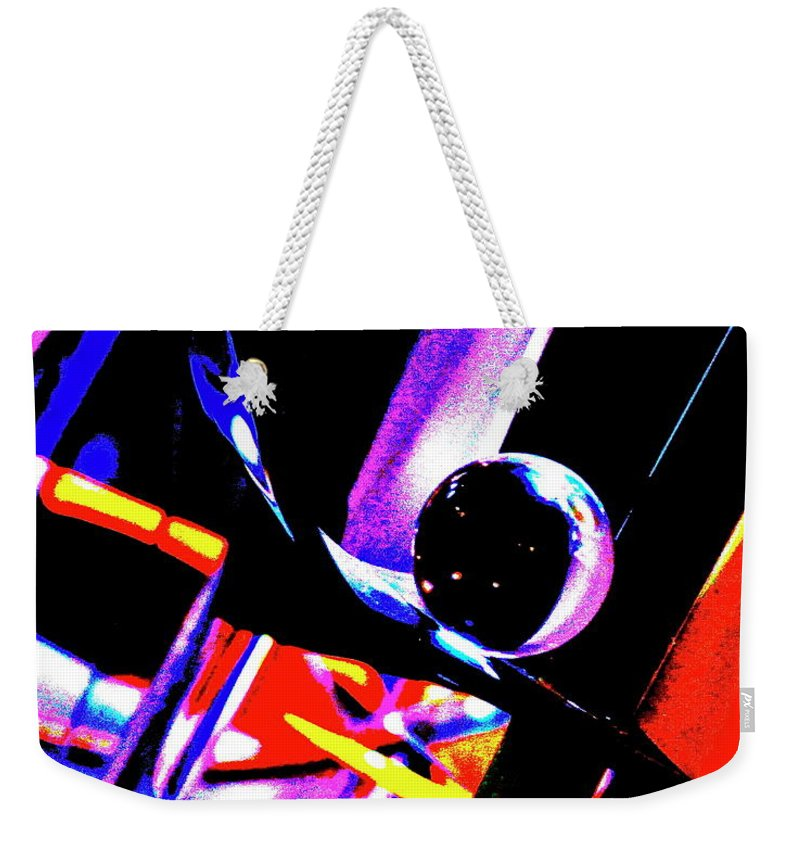Ball Weekender Tote Bag featuring the photograph Anti Gravity by Xn Tyler