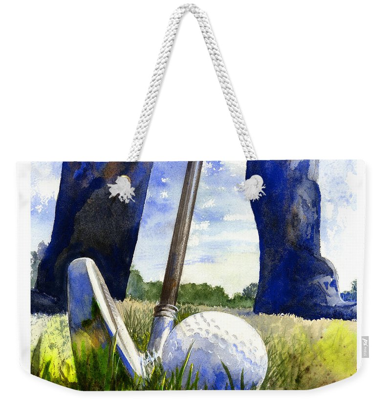 Golf Weekender Tote Bags