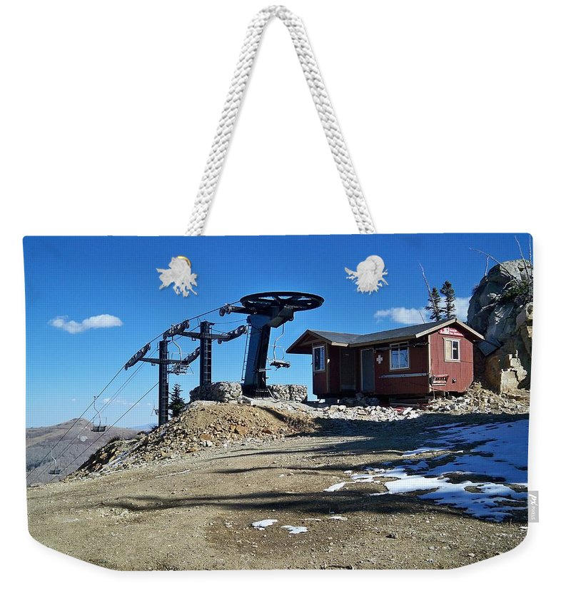 Landscape Weekender Tote Bag featuring the photograph Anticipation by Michael Cuozzo