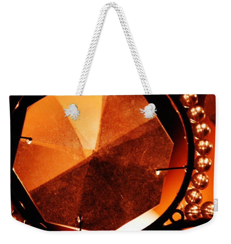 Antique Weekender Tote Bag featuring the photograph Antique Glass by Jill Reger