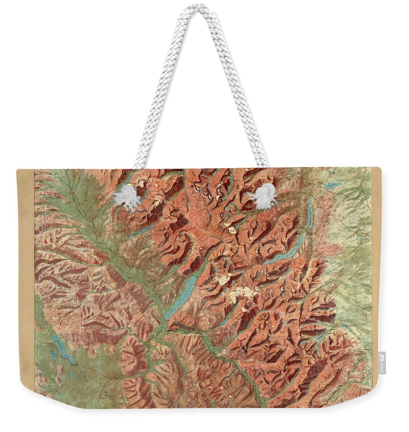 Relief Weekender Tote Bags