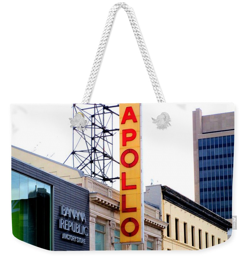 Apollo Theater Weekender Tote Bags