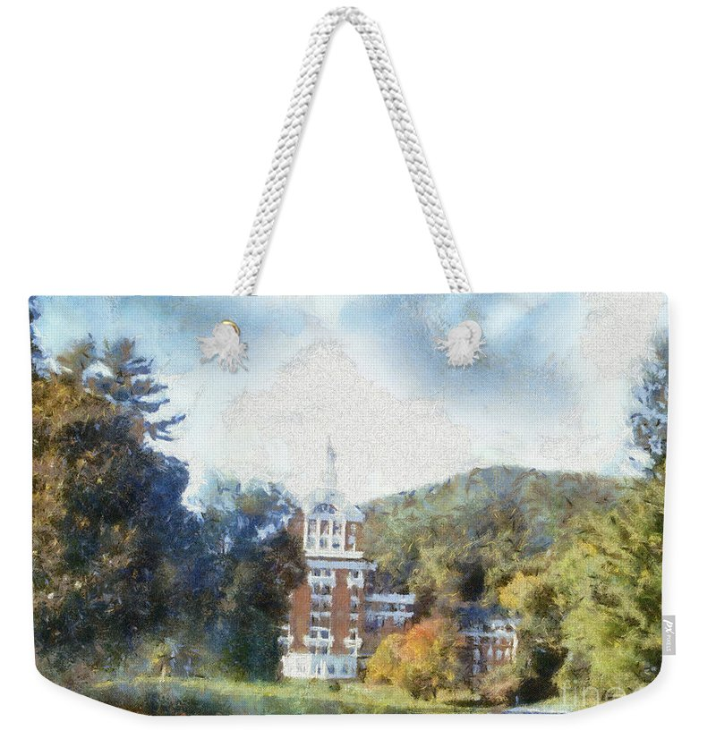 Homestead Weekender Tote Bag featuring the photograph Approaching The Homestead by Paulette B Wright