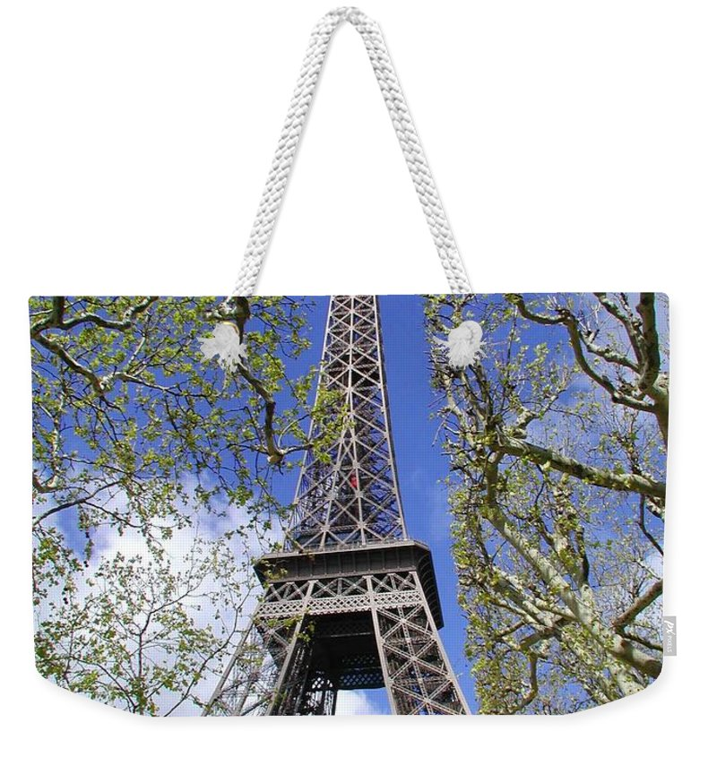 Paris Weekender Tote Bag featuring the photograph April In Paris by Tom Reynen