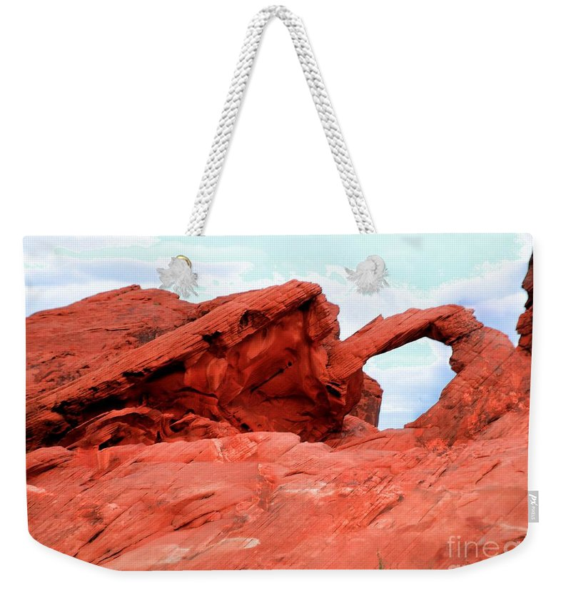 Arch Weekender Tote Bag featuring the photograph Arch by Kathleen Struckle