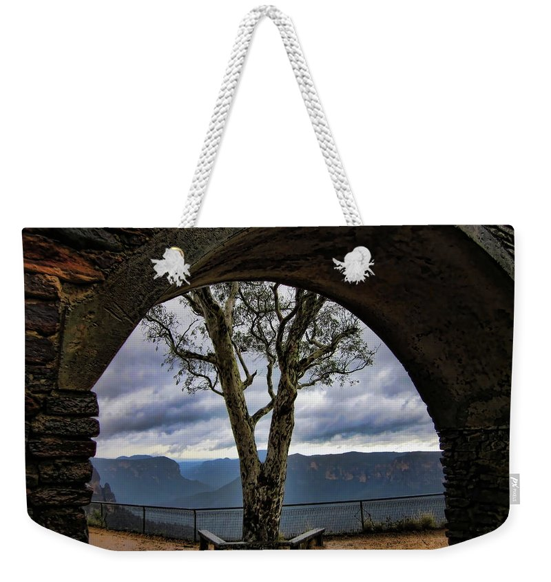Tree Weekender Tote Bag featuring the photograph Arch Tree by Douglas Barnard