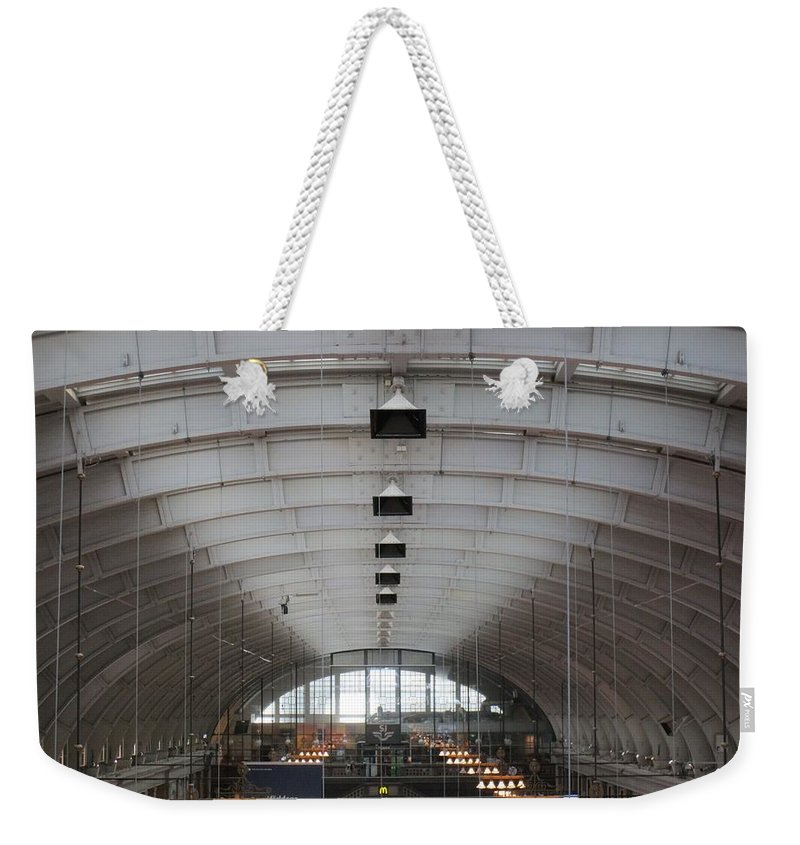 Windows Weekender Tote Bag featuring the photograph Arched by Rosita Larsson