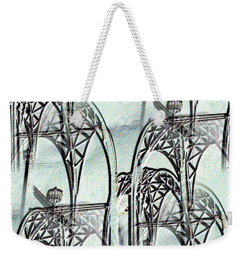Seattle Weekender Tote Bag featuring the photograph Arches 4 by Tim Allen